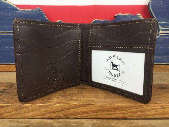 """The Traditionalist"" Bi-Fold Wallet by Over Under Clothing"