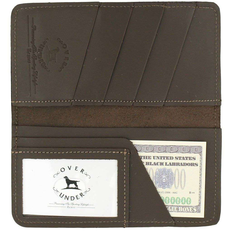 "Wallets - ""The Traveler"" Checkbook Wallet By Over Under Clothing"
