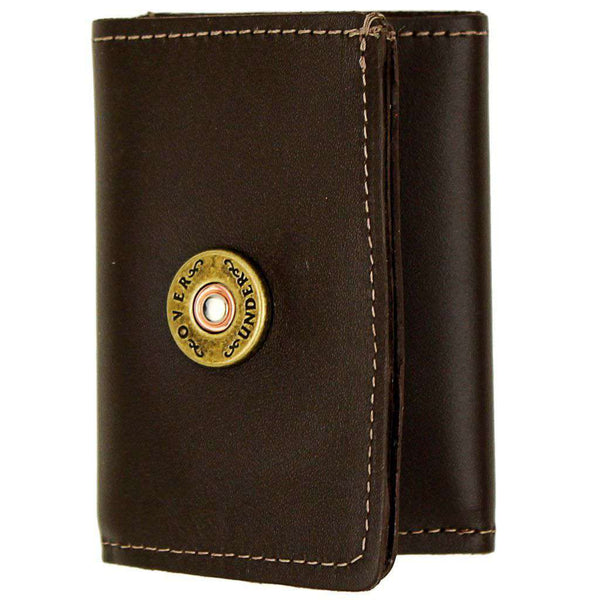 Wallets - Tri-Fold Leather Wallet By Over Under Clothing