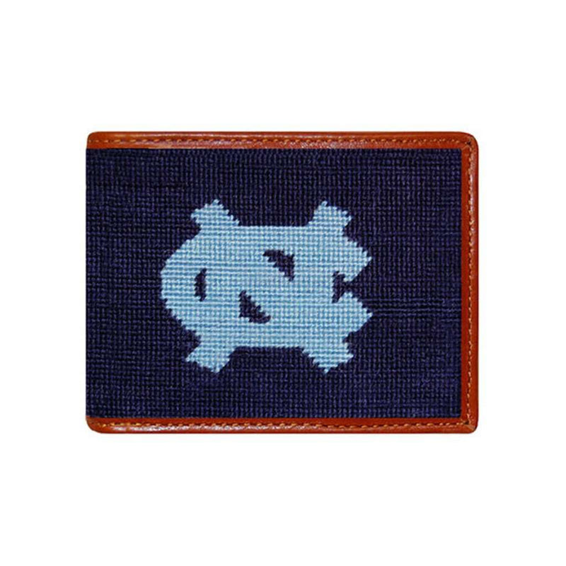 University of North Carolina Needlepoint Bi-Fold Wallet by Smathers & Branson