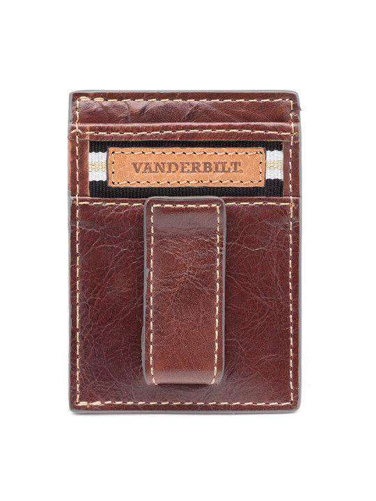 Wallets - Vanderbilt Commodores Tailgate Multicard Front Pocket Wallet By Jack Mason