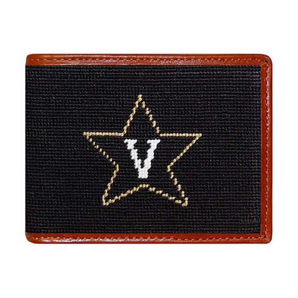 Wallets - Vanderbilt University Needlepoint Wallet By Smathers & Branson