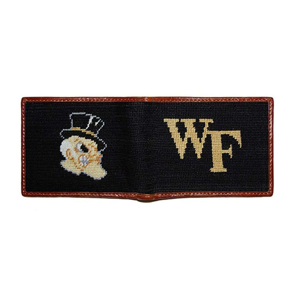Wake Forest Needlepoint Wallet by Smathers & Branson