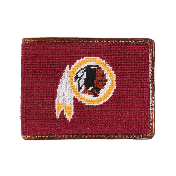 Wallets - Washington Redskins Needlepoint Wallet By Smathers & Branson