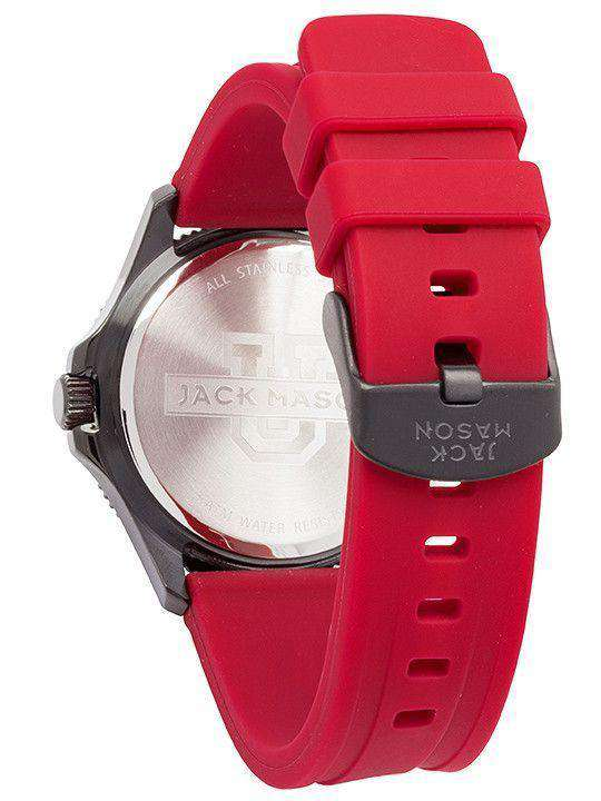 Alabama Crimson Tide Men's Silicone Strap Watch by Jack Mason - FINAL SALE