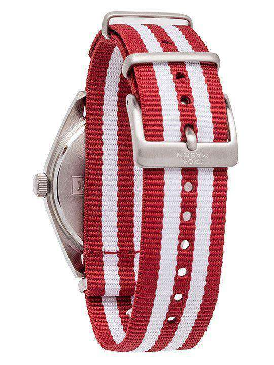 Alabama Crimson Tide Unisex Nato Striped Strap Watch by Jack Mason - FINAL SALE