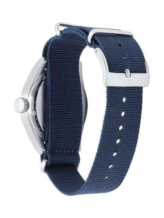 Watches - Auburn Tigers Men's Nato Solid Strap Watch By Jack Mason