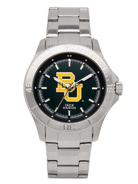 Watches - Baylor Bears Sport Bracelet Team Color Dial Watch By Jack Mason