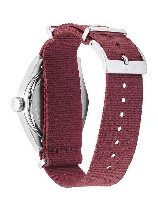 Watches - Florida State Seminoles Men's Nato Solid Strap Watch By Jack Mason