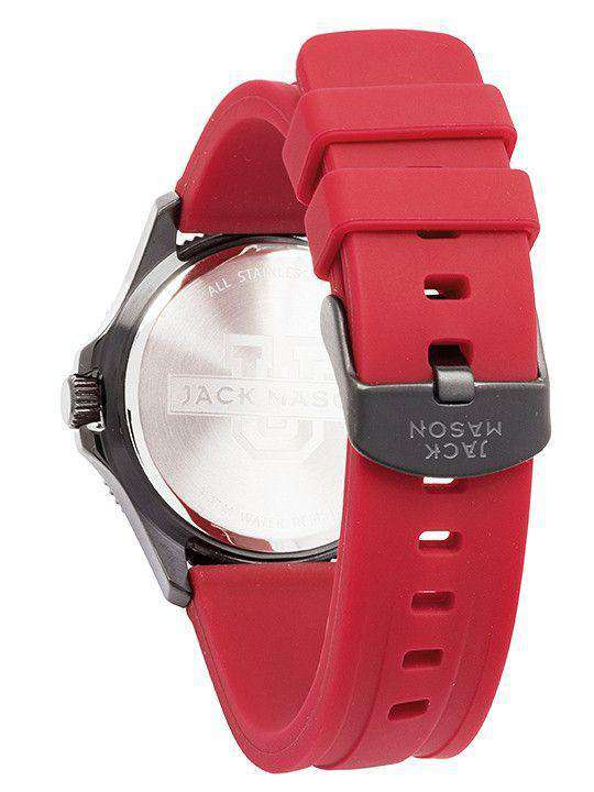 Florida State Seminoles Men's Silicone Strap Watch by Jack Mason - FINAL SALE