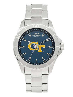 Watches - Georgia Tech Yellow Jackets Sport Bracelet Team Color Dial Watch By Jack Mason