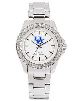 Watches - Kentucky Wildcats Ladies Glitz Sport Bracelet Watch By Jack Mason