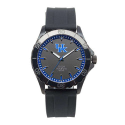 Watches - Kentucky Wildcats Men's Blackout Silicone Strap Watch By Jack Mason