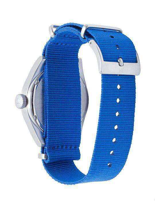 Watches - Kentucky Wildcats Men's Nato Solid Strap Watch By Jack Mason