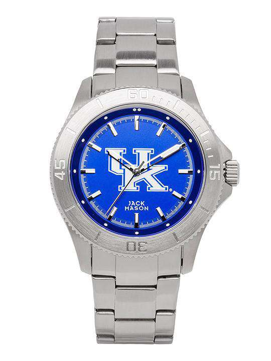 Watches - Kentucky Wildcats Sport Bracelet Team Color Dial Watch By Jack Mason