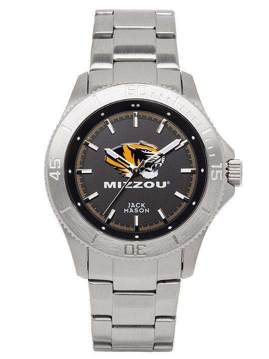 Watches - Missouri Tigers Sport Bracelet Team Color Dial Watch By Jack Mason