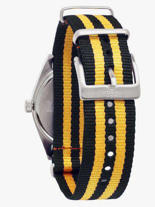 Missouri Tigers Unisex Nato Striped Strap Watch by Jack Mason - FINAL SALE