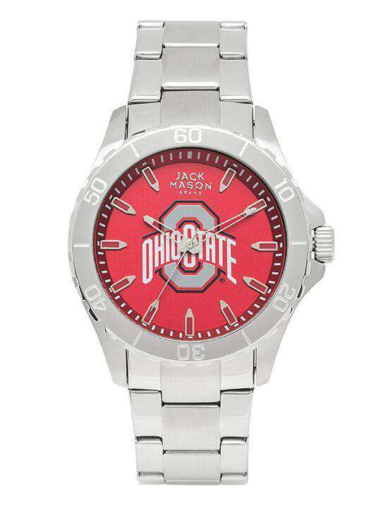 Watches - Ohio State Buckeyes Sport Bracelet Team Color Dial Watch By Jack Mason