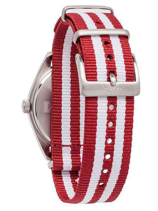 Watches - Oklahoma Sooners Unisex Nato Striped Strap Watch By Jack Mason