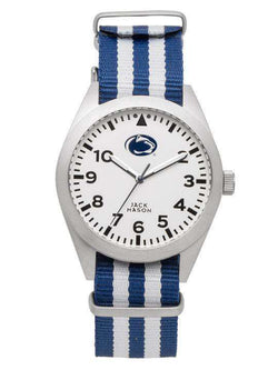 Watches - Penn State Nittany Lions Unisex Nato Striped Strap Watch By Jack Mason