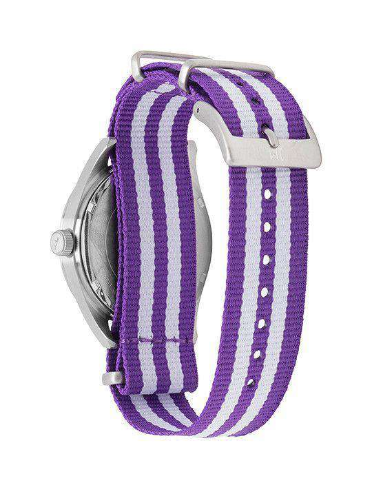 TCU Horned Frogs Unisex Nato Striped Strap Watch by Jack Mason - FINAL SALE
