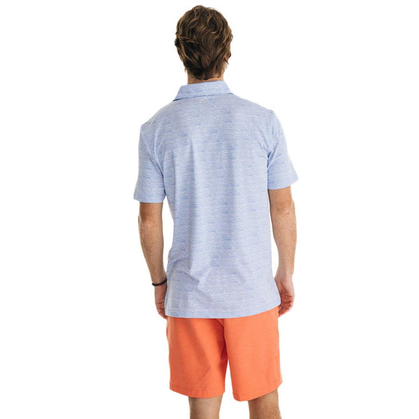 Driver Wave Print Performance Polo by Southern Tide