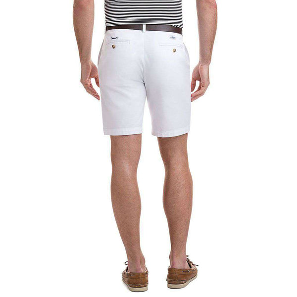 9 Inch Stretch Breaker Shorts in White Cap by Vineyard Vines