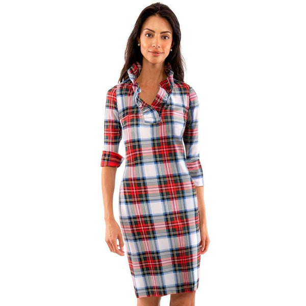 Country Club Prep White Plaid Multi / XXS