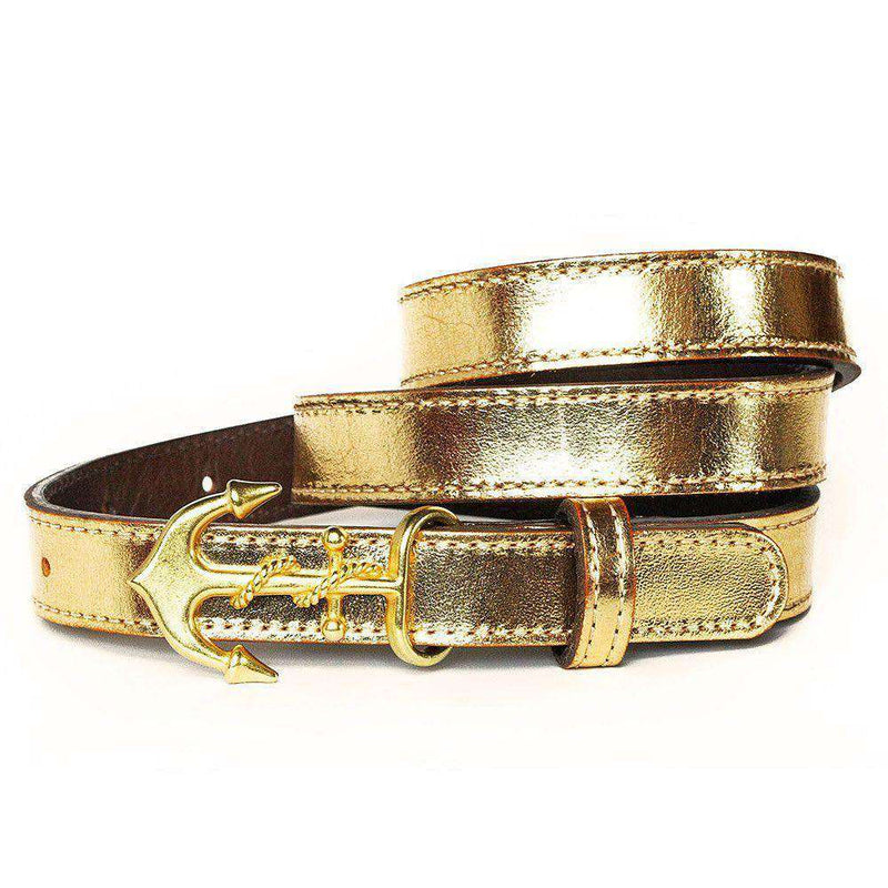 Women's Belts - Devon Mackenzie Belt In Gold By Kiel James Patrick