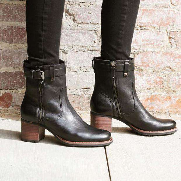 Women's Madison Boot in Black by Trask
