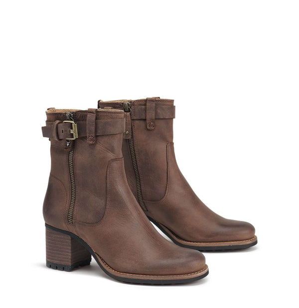 Women's Boots - Madison Boot In Dark Brown By Trask