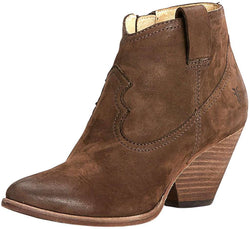 Women's Boots - Reina Bootie In Dark Brown By The Frye Company - FINAL SALE