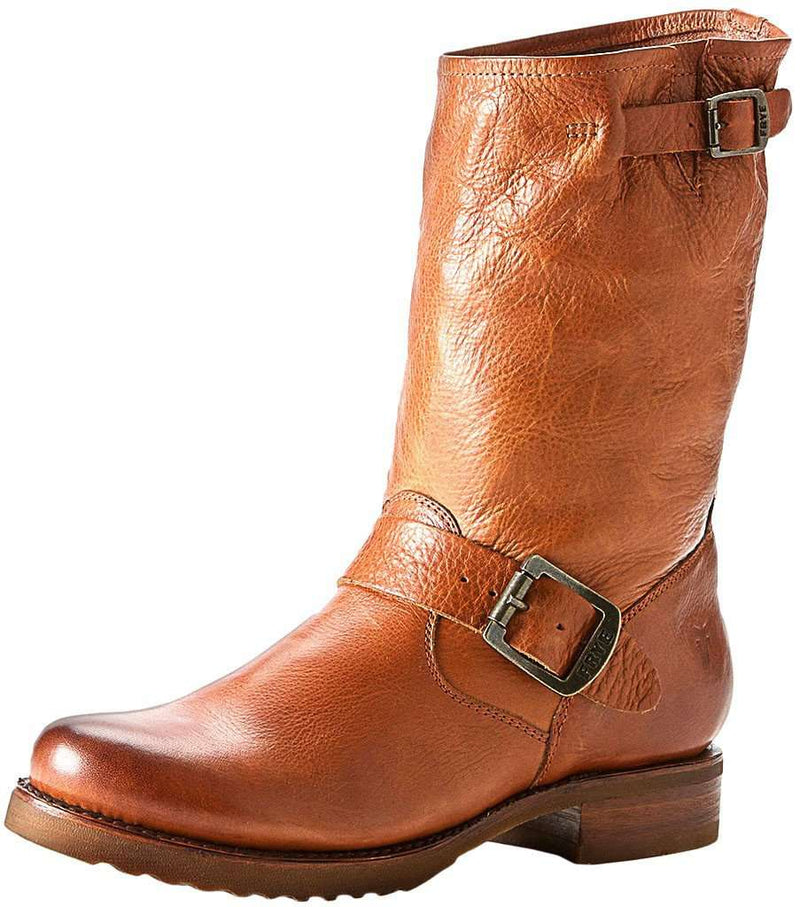 Veronica Shortie Boot in Whiskey by The Frye Company - Country Club Prep