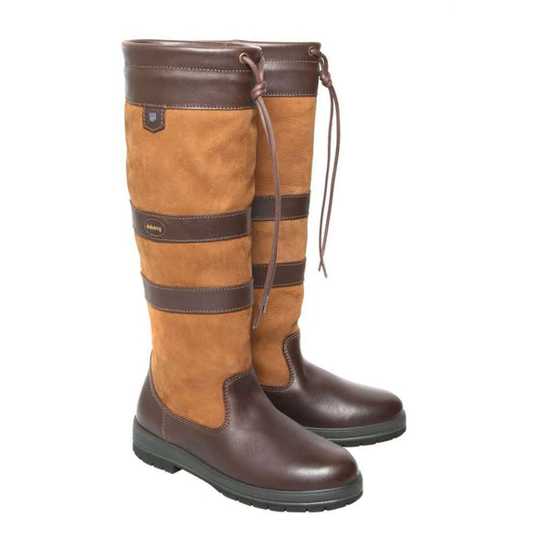 Women's Boots - Women's Galway Boot In Brown By Dubarry Of Ireland