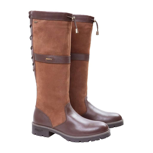 Women's Boots - Women's Glanmire Boot In Walnut By Dubarry