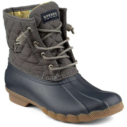 Saltwater Quilted Duck Boot in Graphite