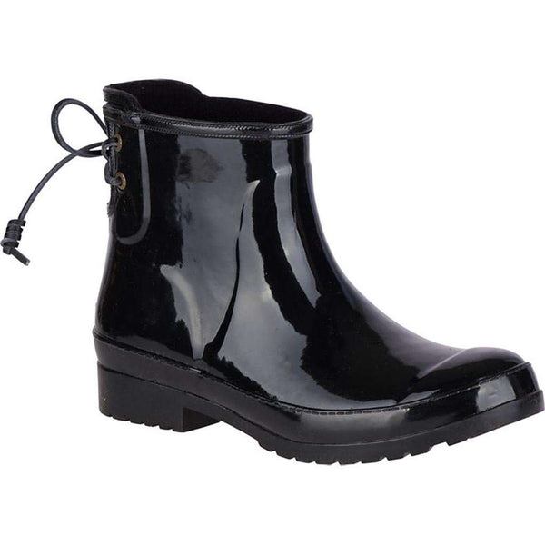 Women's Boots - Women's Walker Turf Rain Boot Black By Sperry