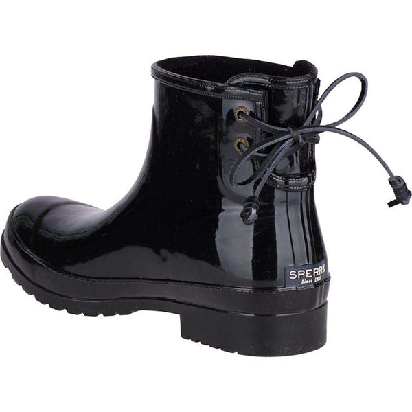 Women's Walker Turf Rain Boot Black by Sperry