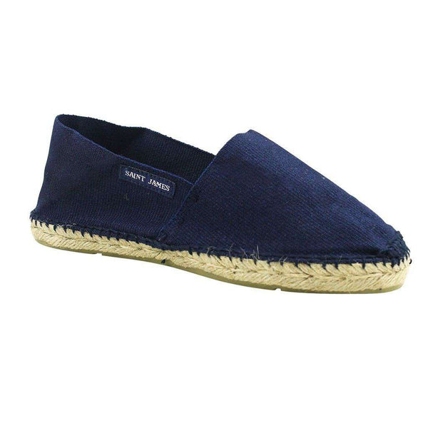 Espadrille U F in Navy by Saint James