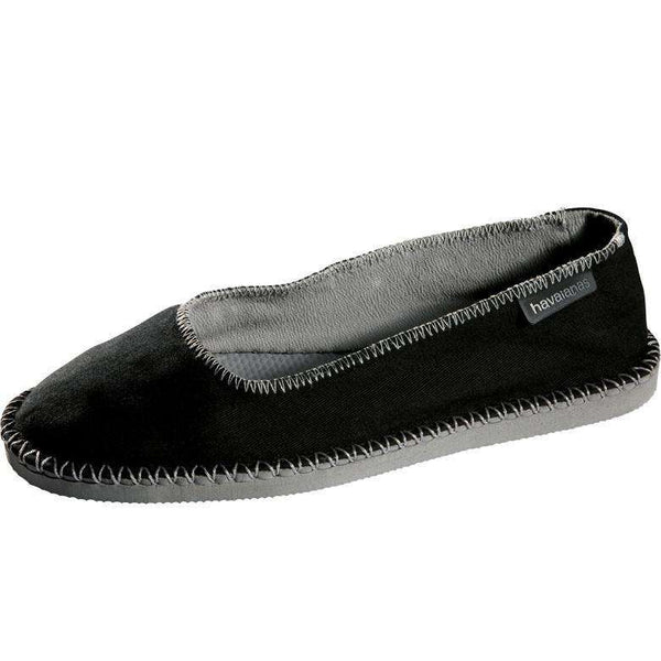Origine Ballerina Espadrilles in Black by Havaianas - FINAL SALE