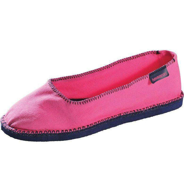 Origine Ballerina Espadrilles in Pop Rose by Havaianas - FINAL SALE