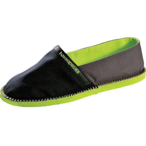 Origine Espadrilles in Black and Dark Grey by Havaianas - FINAL SALE