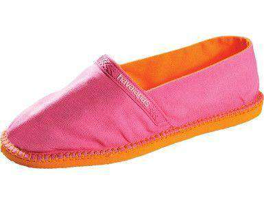 Women's Flats - Origine Espadrilles In Pop Rose By Havaianas - FINAL SALE