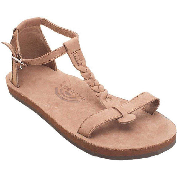 023ff16dfd00e Women s Calafia Single Layer with Back Buckle Heel in Dark Brown by Rainbow  Sandals