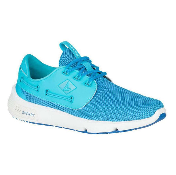 Women's Footwear - Women's 7 Seas Boat Shoe In Blue Water By Sperry - FINAL SALE