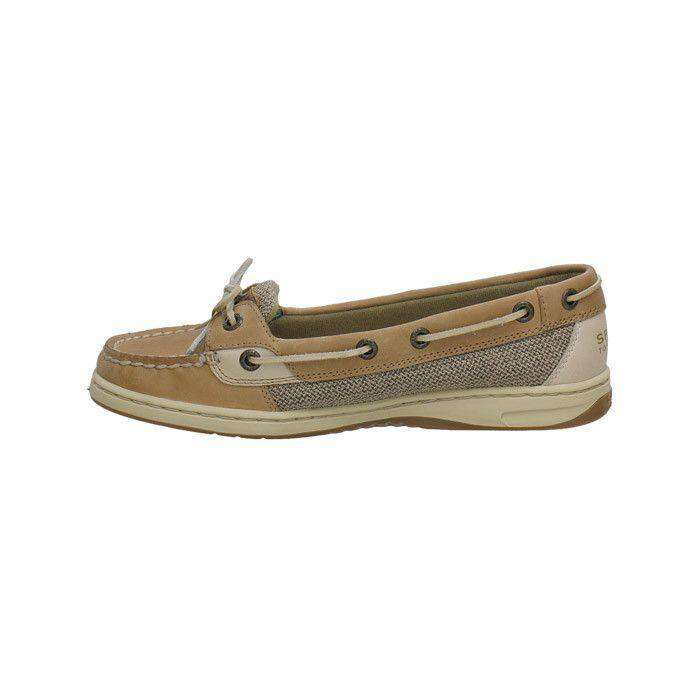 Women's Footwear - Women's Angelfish Slip-On Boat Shoe In Linen Oat By Sperry
