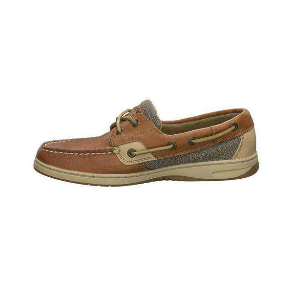Women's Footwear - Women's Bluefish 2-Eye Boat Shoe In Linen Oat By Sperry - FINAL SALE