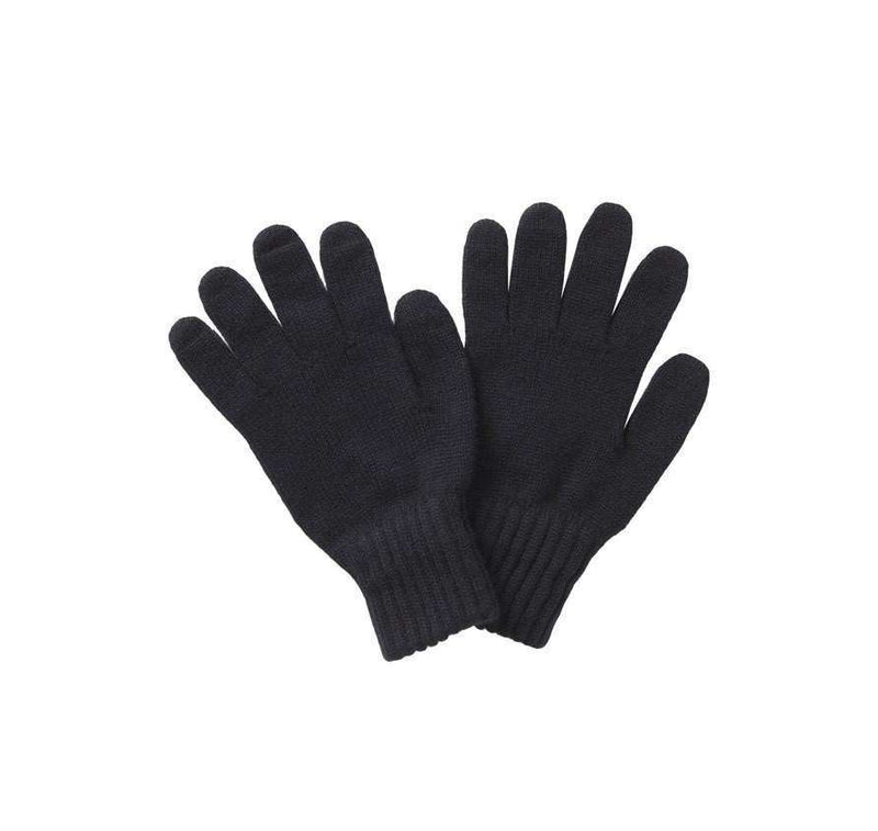 Women's Gloves - Lambswool Gloves In Black By Barbour
