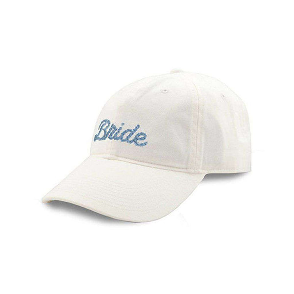 Women's Hats/Visors - Bride Needlepoint Hat In White By Smathers & Branson