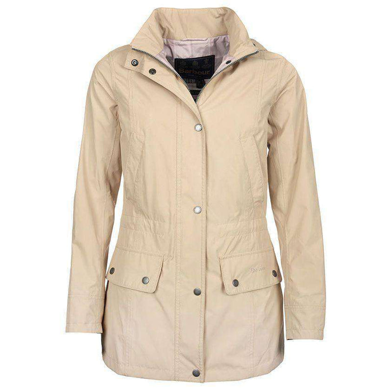 Women's Jackets - Alasdiar Parka In Dark Pearl By Barbour